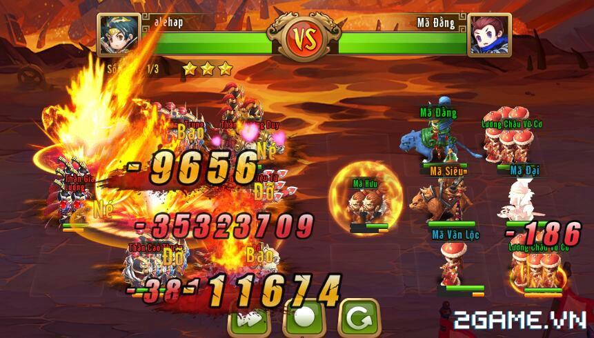 Ngọc Rồng Tam Quốc – Chiến trường Tam Quốc Chibi đã được bản địa hoá 2
