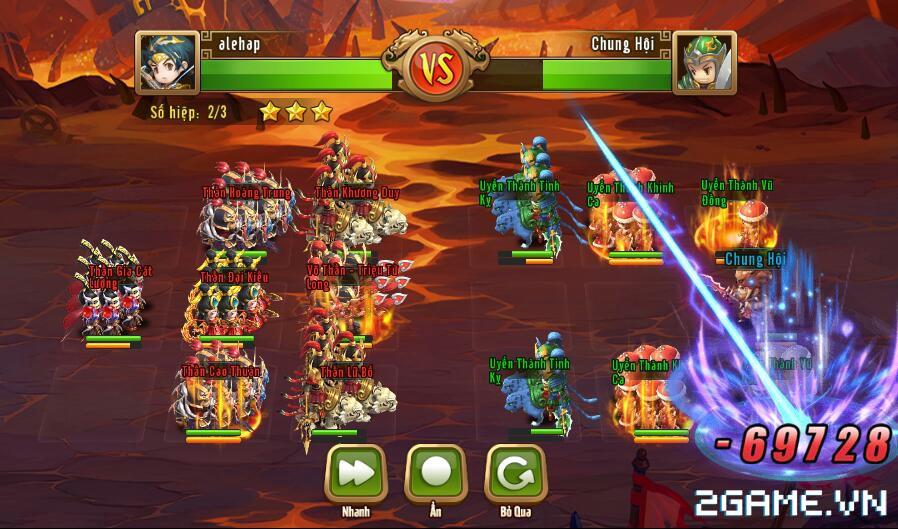 Ngọc Rồng Tam Quốc – Chiến trường Tam Quốc Chibi đã được bản địa hoá 5