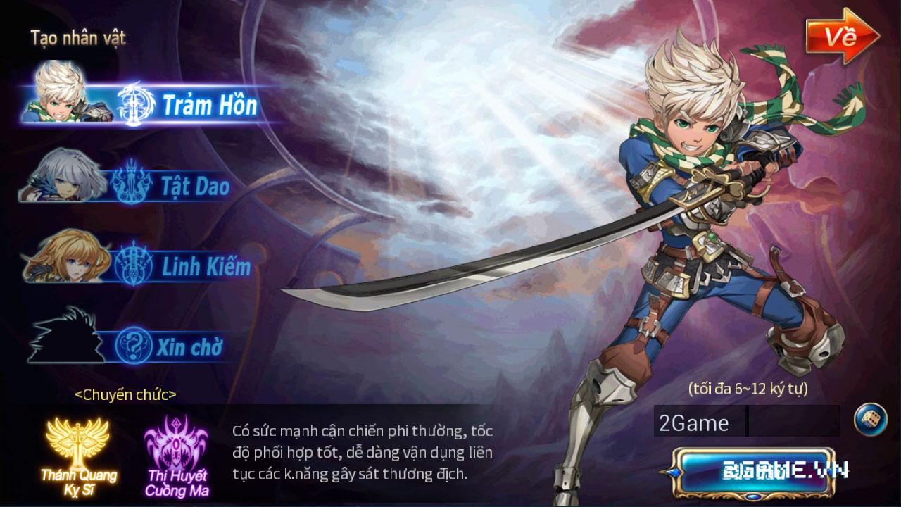 Thần Thoại Mobile - Sword of Soul chính thức ra mắt phiên bản Việt 0