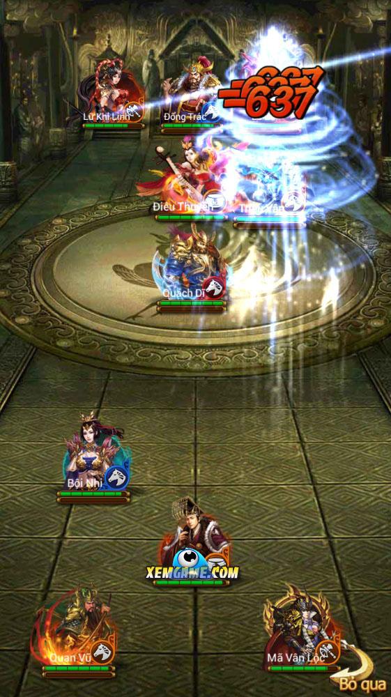 Vua Tam Quốc: Trải nghiệm mới về lối chơi thẻ bài chiến thuật 0