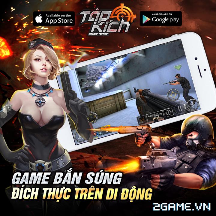 Tập Kích mobile được VTC Mobile phát hành tại Việt Nam 1