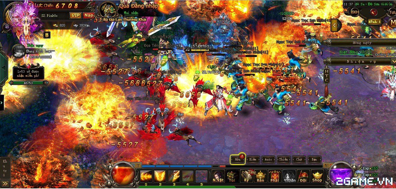 Đại hội Tiên Kiếm Hoa Thiên Cốt – làn gió lạ E-Sports cho làng game Việt 2