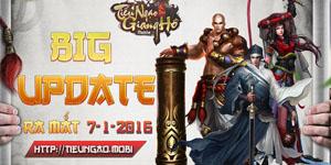 Tiếu ngạo giang hồ Mobile: Tung Big Update, vươn mình thành tựa game E-sports trên di động