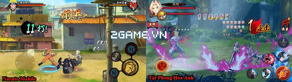 Huyền Thoại Naruto đang cố nhại theo lối chơi của Naruto Mobile chính hãng 0