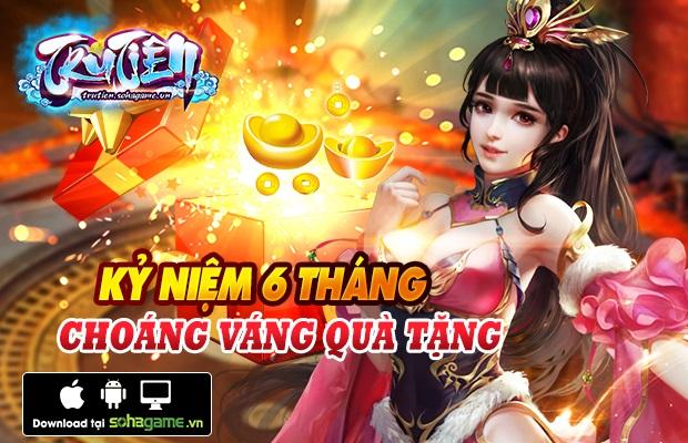 Tặng 310 giftcode game Tru Tiên Mobile 1