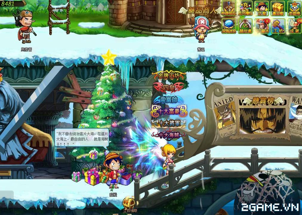 One Piece ZeZe - Chơi Vua Hải Tặc phong cách nhập vai màn hình ngang 1