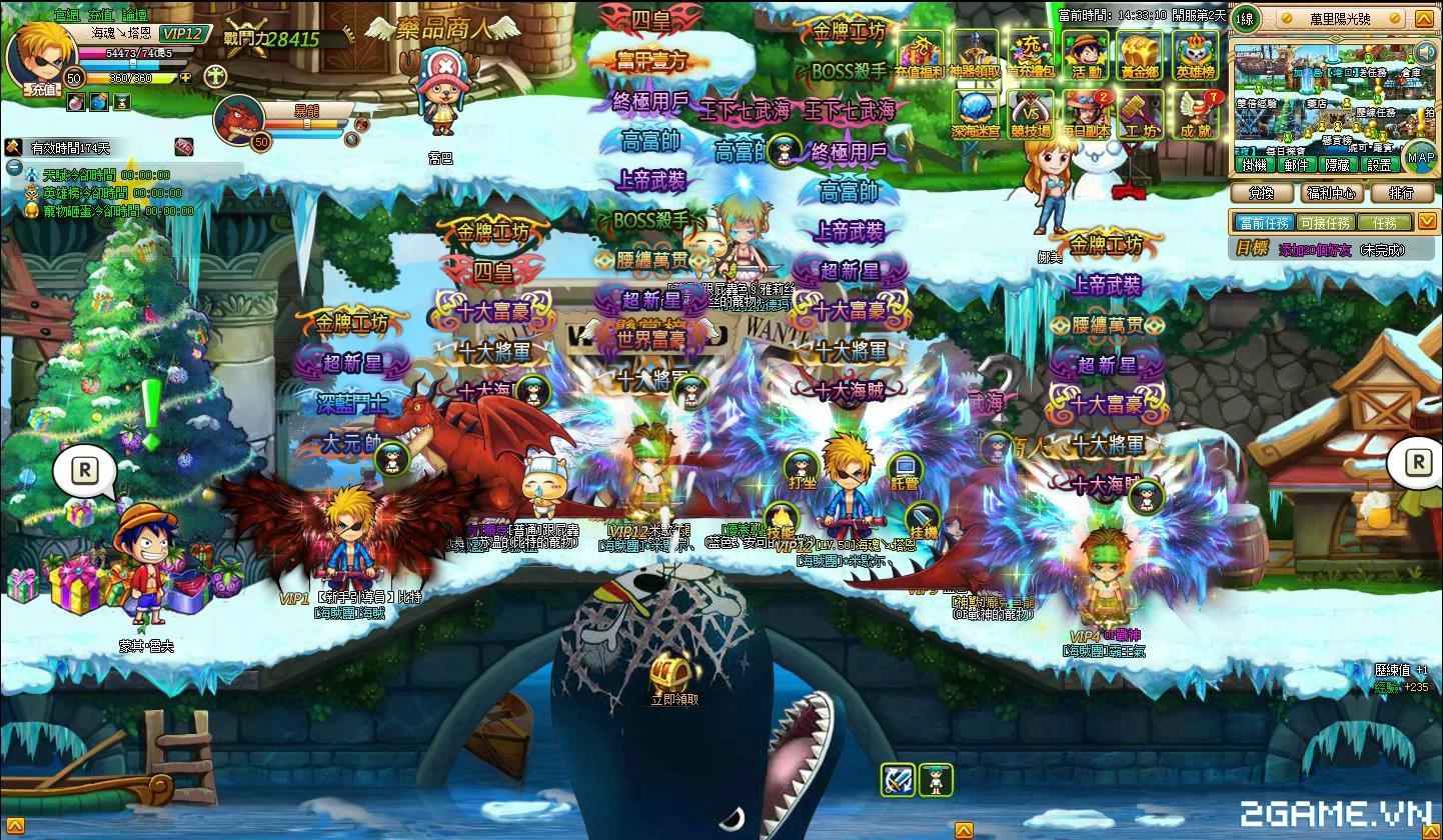 One Piece ZeZe - Chơi Vua Hải Tặc phong cách nhập vai màn hình ngang 2