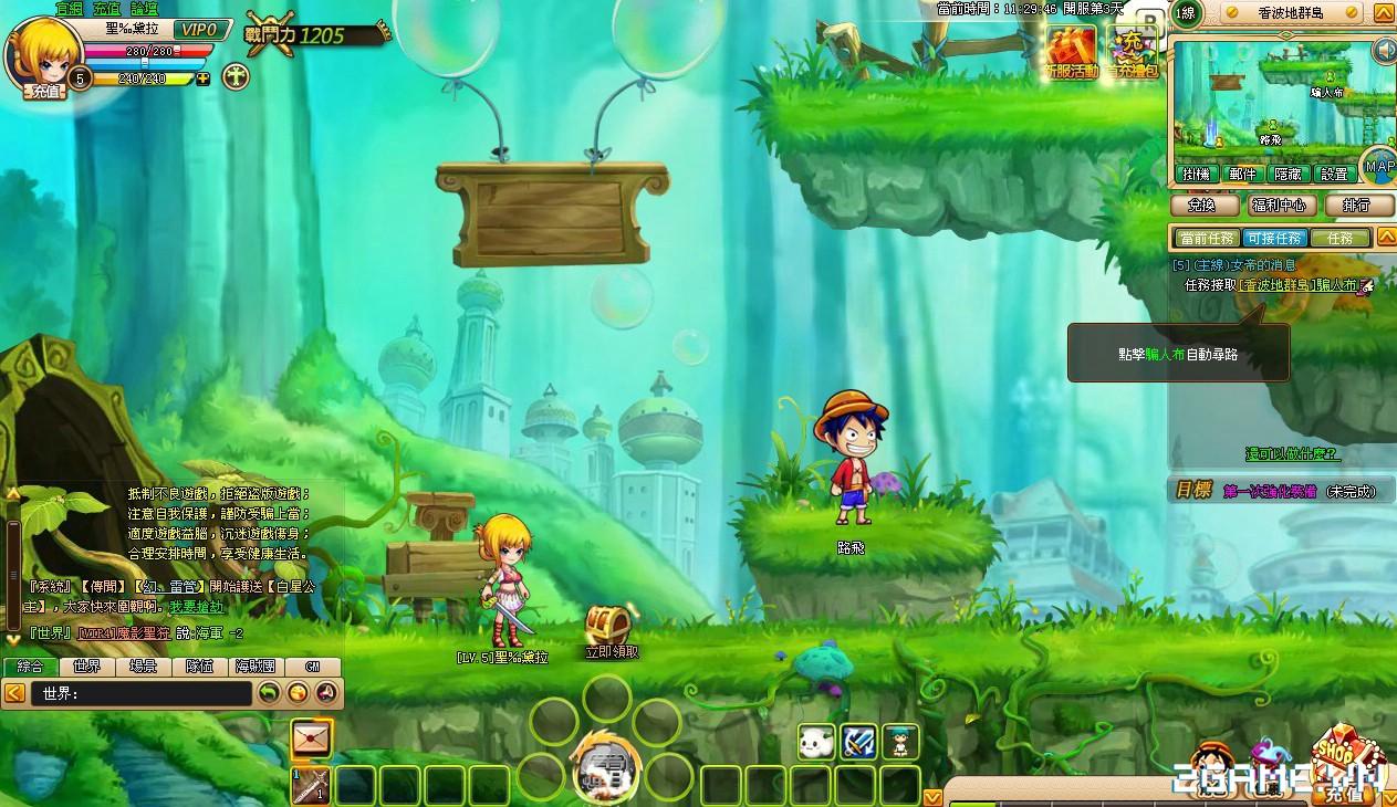 One Piece ZeZe - Chơi Vua Hải Tặc phong cách nhập vai màn hình ngang 4