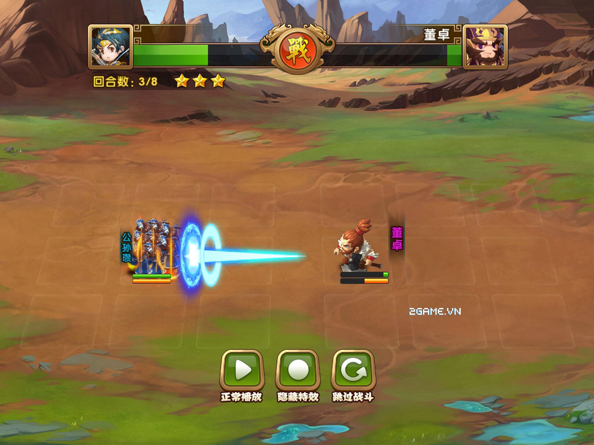 Ngọc Rồng Tam Quốc - Khi sử 3Q kết hợp cùng Dragon Ball 8