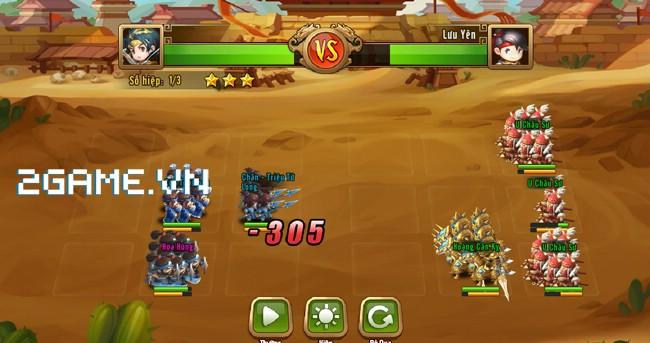 Ngọc Rồng Tam Quốc - Khi sử 3Q kết hợp cùng Dragon Ball 1
