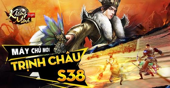Tặng 510 giftcode game Khổng Minh Truyện 0