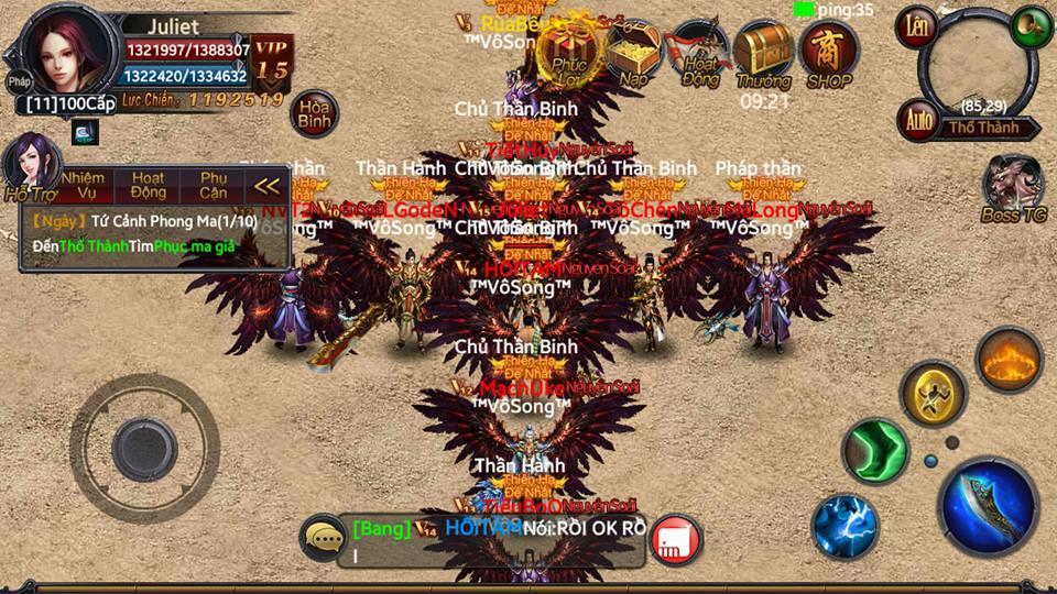 Tặng 220 giftcode game Đồ Sát Mobile 7