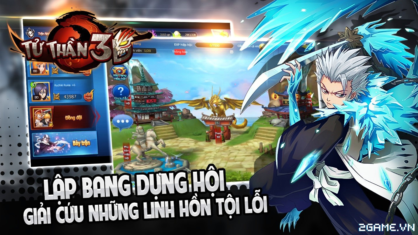 Tặng 210 giftcode game Tử Thần 3D 0