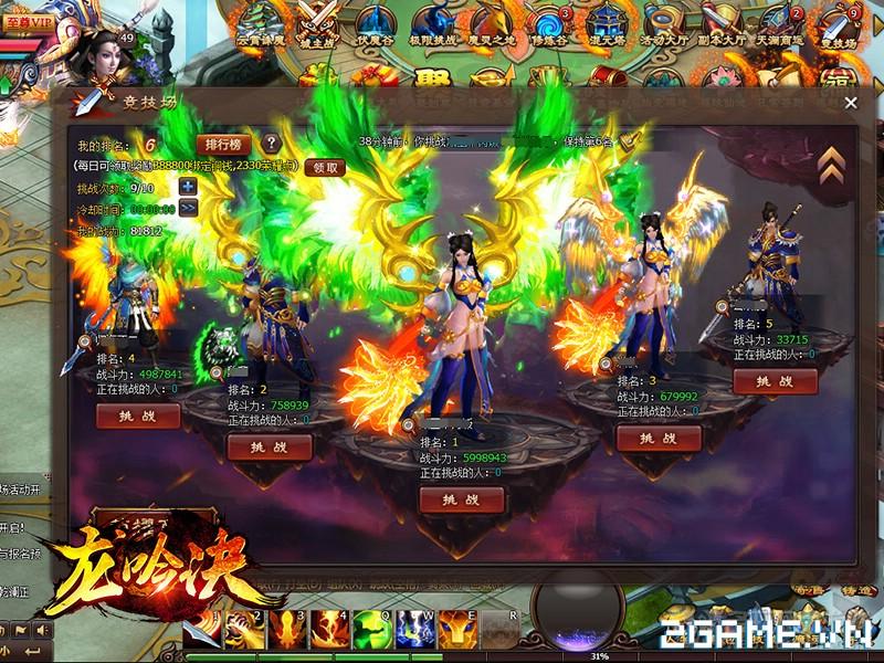 Webgame Long Ngâm Quyết: Thế giới tiên hiệp đầy biến ảo 5