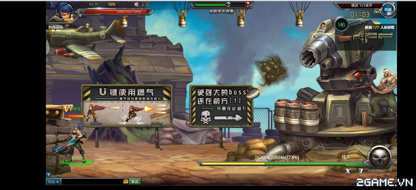 Webgame Đầu Đạn Hạch Kim: Tái hiện cảm giác game Rambo lùn đầy kịch tính 6
