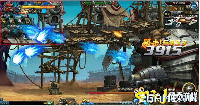 Webgame Đầu Đạn Hạch Kim: Tái hiện cảm giác game Rambo lùn đầy kịch tính 4