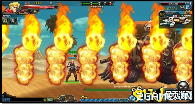 Webgame Đầu Đạn Hạch Kim: Tái hiện cảm giác game Rambo lùn đầy kịch tính 5