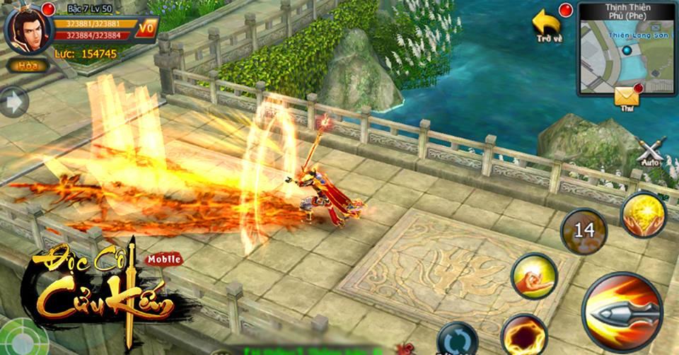 Độc Cô Cửu Kiếm mobile khoe 5 tính nặng đặc sắc hút hồn người chơi 1