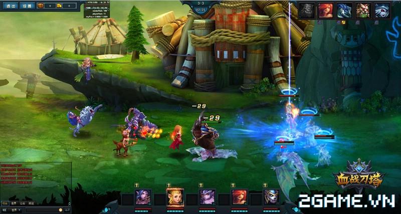 Webgame Đao Tháp Huyết Chiến - Tái hiện đấu trường DotA kiểu mới 3