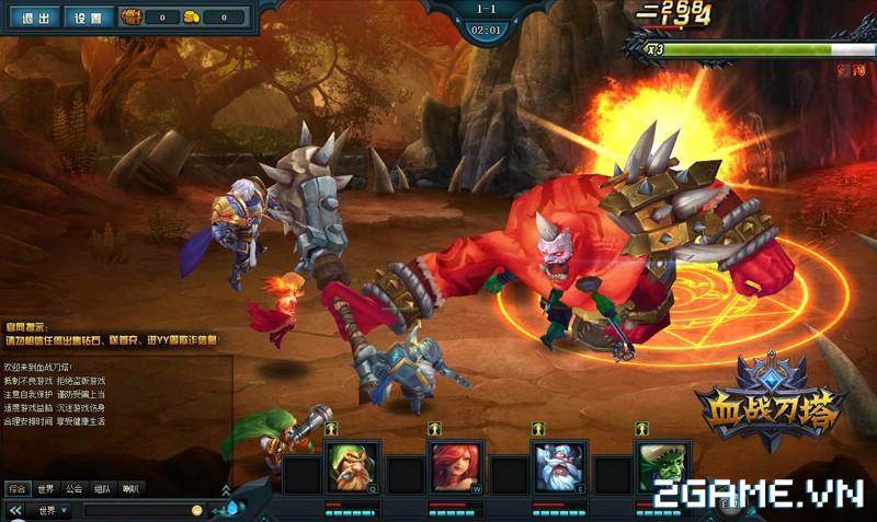 Webgame Đao Tháp Huyết Chiến - Tái hiện đấu trường DotA kiểu mới 4