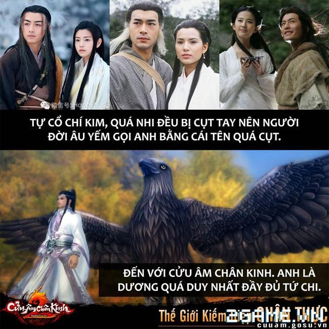 Cô Cô – Dương Quá chia tay trong phim, tái hợp trong Cửu Âm Chân Kinh 4