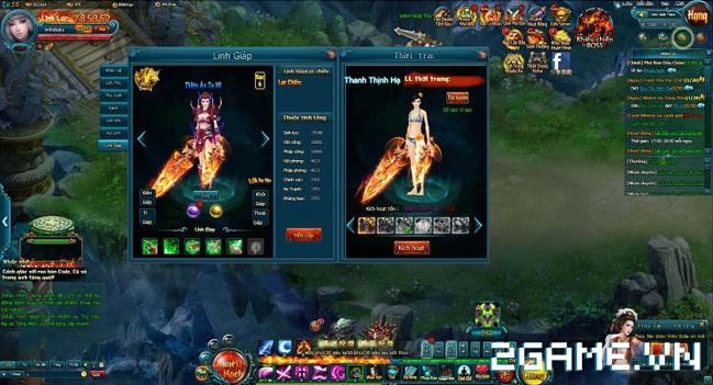 Hiện đại và cổ trang song hành trong webgame Linh Vực 1