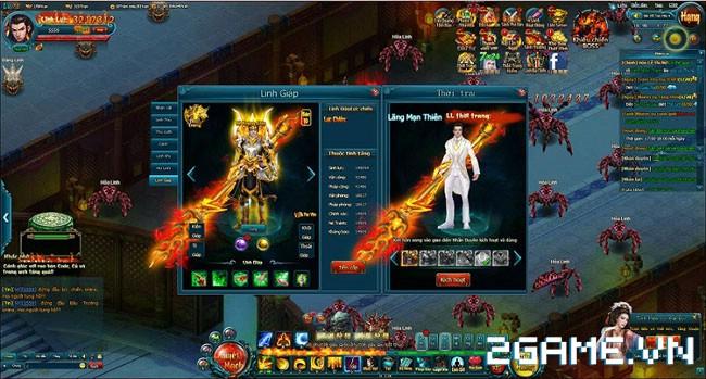 Hiện đại và cổ trang song hành trong webgame Linh Vực 2