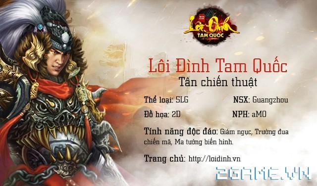Game mới Lôi Đình Tam Quốc sắp về Việt Nam có gì hay? 0