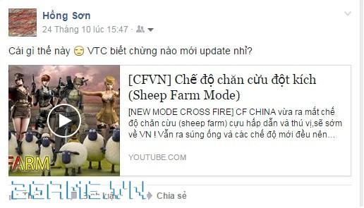 Chế độ chăn cừu sẽ chính thức về Đột Kích Việt vào ngày 3/2/2016 2