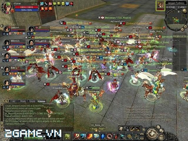 Top 5 game online cũ, đồ họa