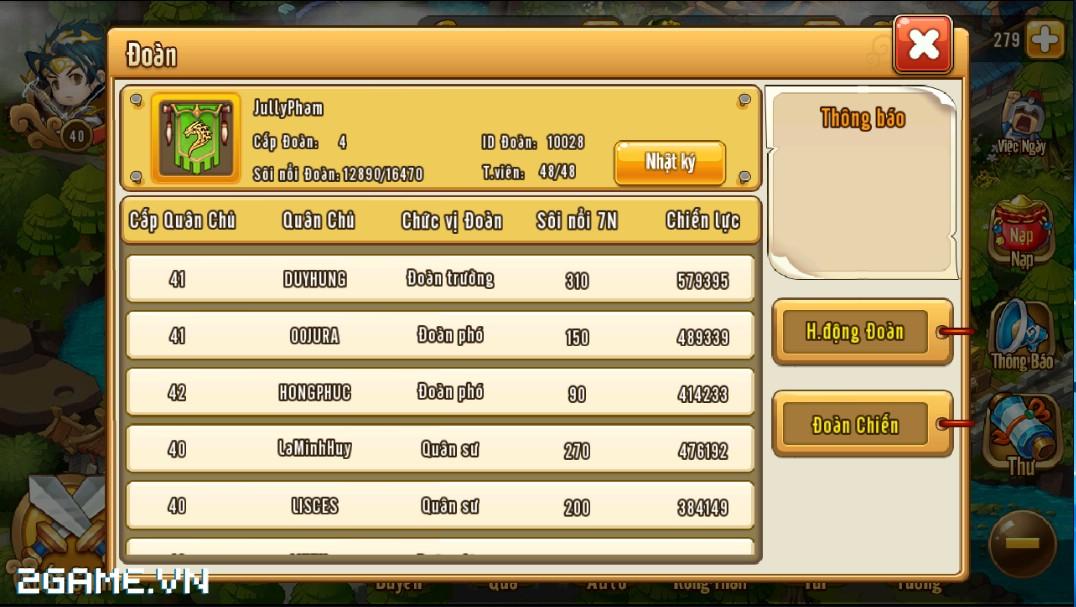 Ngọc Rồng Tam Quốc chuẩn bị Open Beta, mở thêm server mới Quan Vũ 3