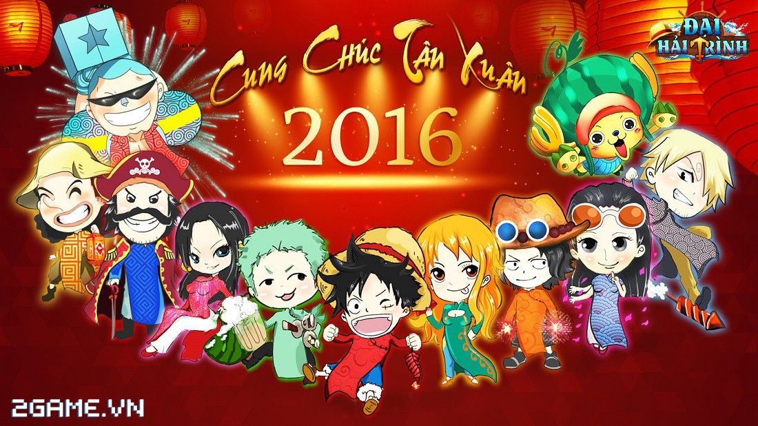 Cùng ngắm hải tặc One Piece mặc áo dài Việt Nam 0