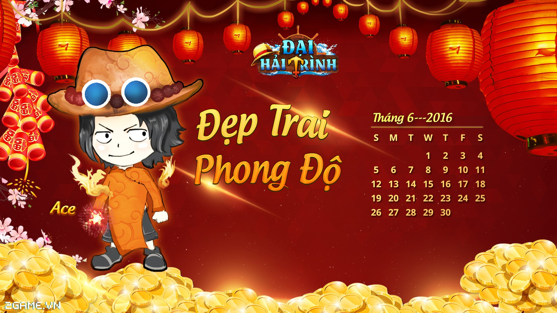 Cùng ngắm hải tặc One Piece mặc áo dài Việt Nam 6