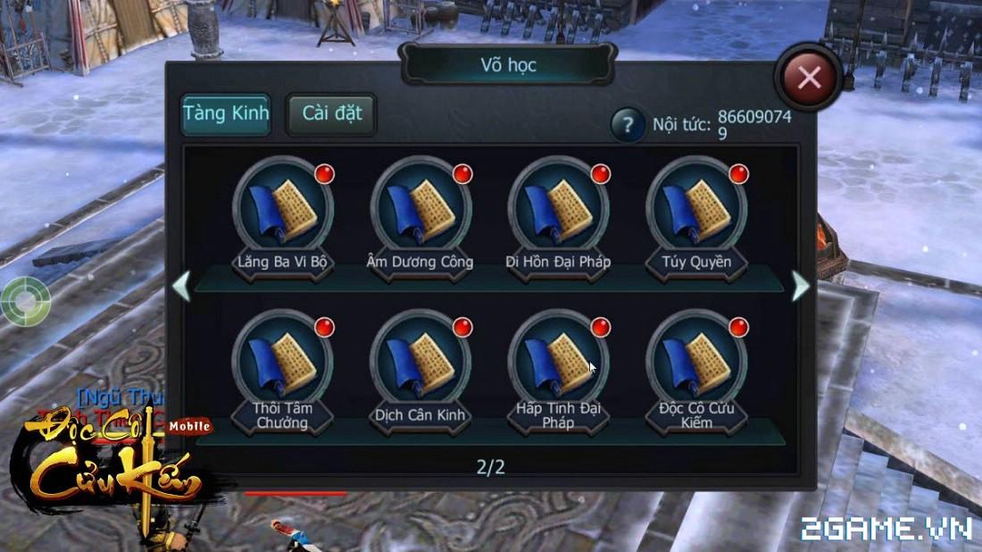 Tặng 510 giftcode game Độc Cô Cửu Kiếm Mobile 1