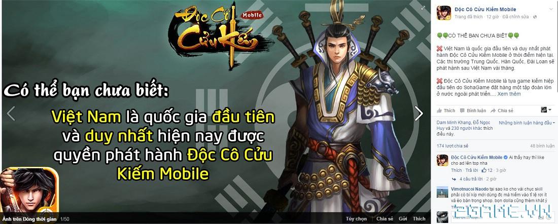Tặng 510 giftcode game Độc Cô Cửu Kiếm Mobile 4