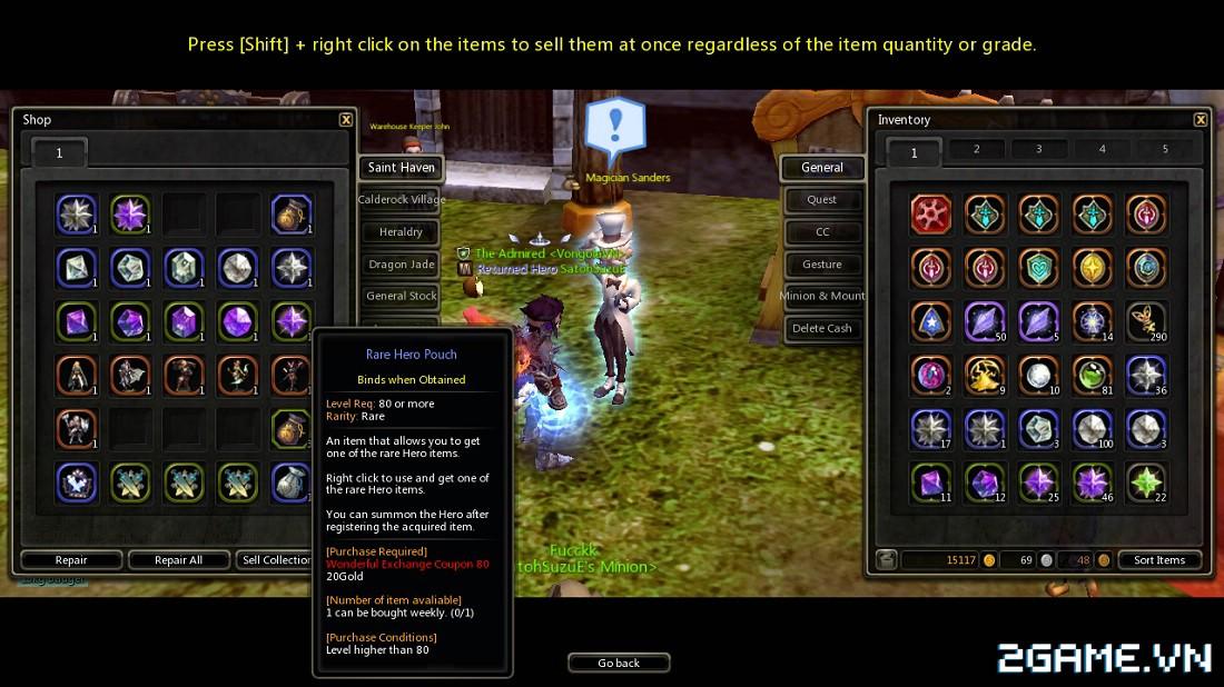 Dragon Nest: Cách kiếm tiền dễ nhất trong game 13