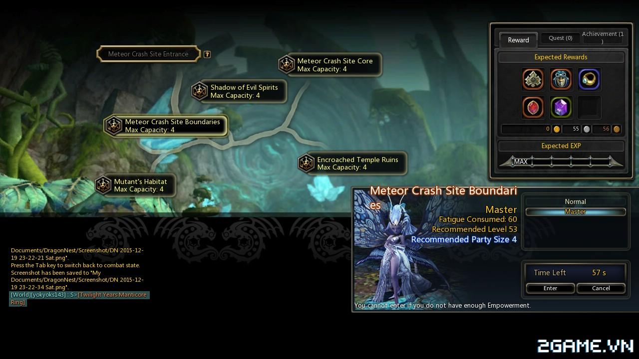 Dragon Nest: Hướng dẫn tăng cấp siêu nhanh 14