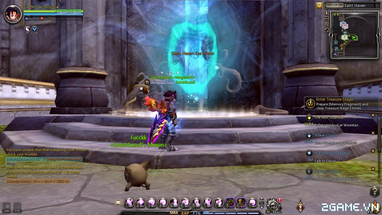 Dragon Nest: Hướng dẫn tăng cấp siêu nhanh 15