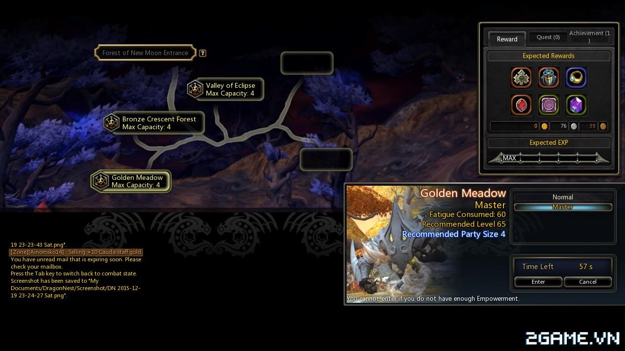 Dragon Nest: Hướng dẫn tăng cấp siêu nhanh 17