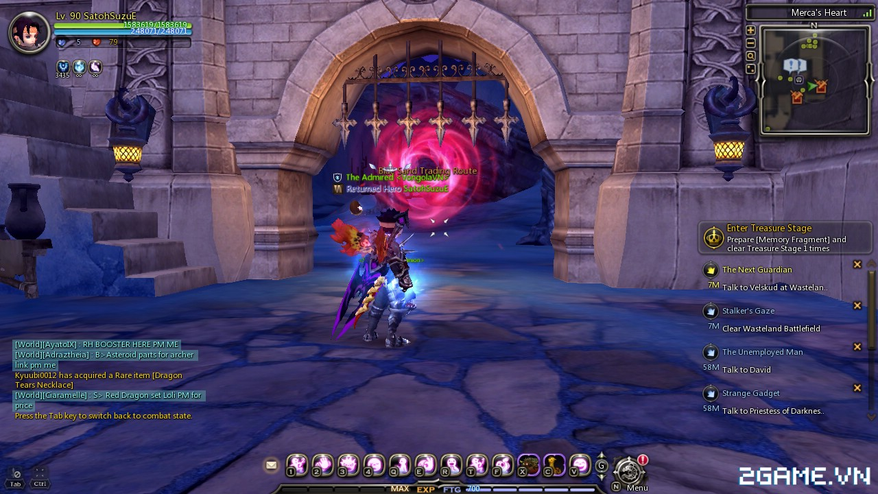 Dragon Nest: Hướng dẫn tăng cấp siêu nhanh 24