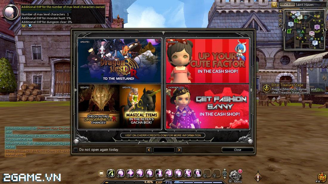 Dragon Nest: Mẹo thăng cấp nhanh trong game 0