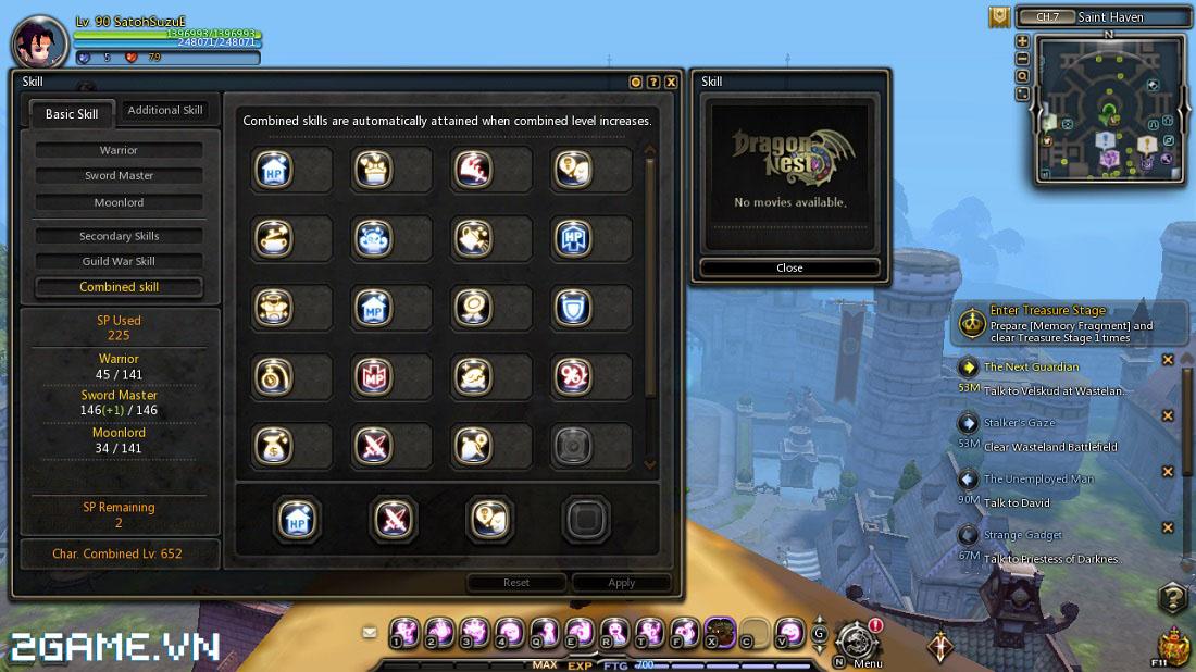 Dragon Nest: Mẹo thăng cấp nhanh trong game 1