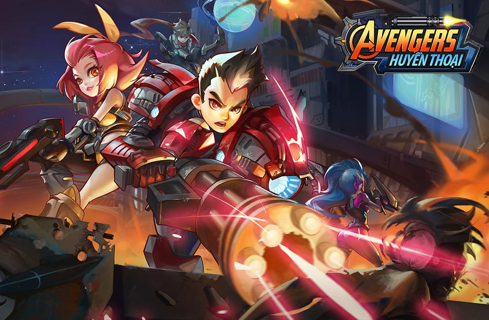 Avengers Huyền Thoại công phá Bảng xếp hạng App Store 0