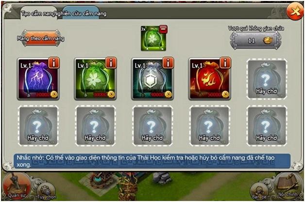 Đại Chiến Tam Quốc ra mắt tính năng mới thách thức Spell của Clash of Clans 3