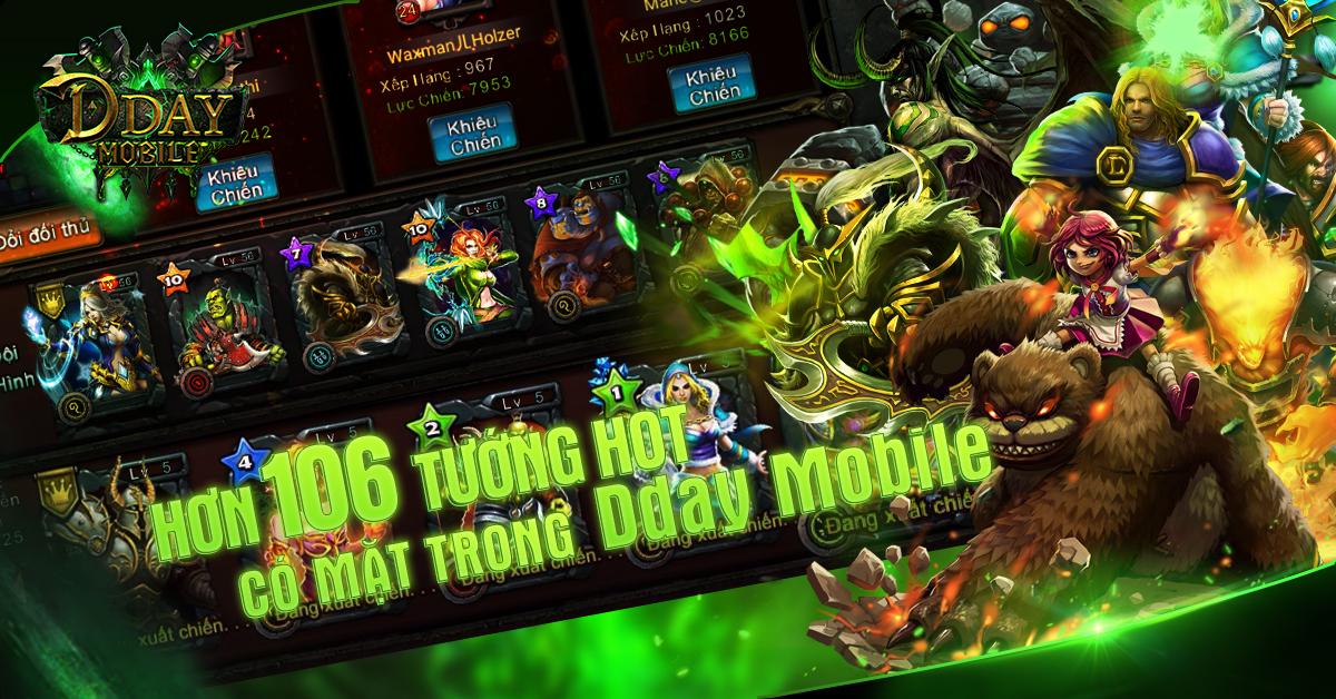 Cận cảnh DDAY mobile phiên bản Việt hóa 0