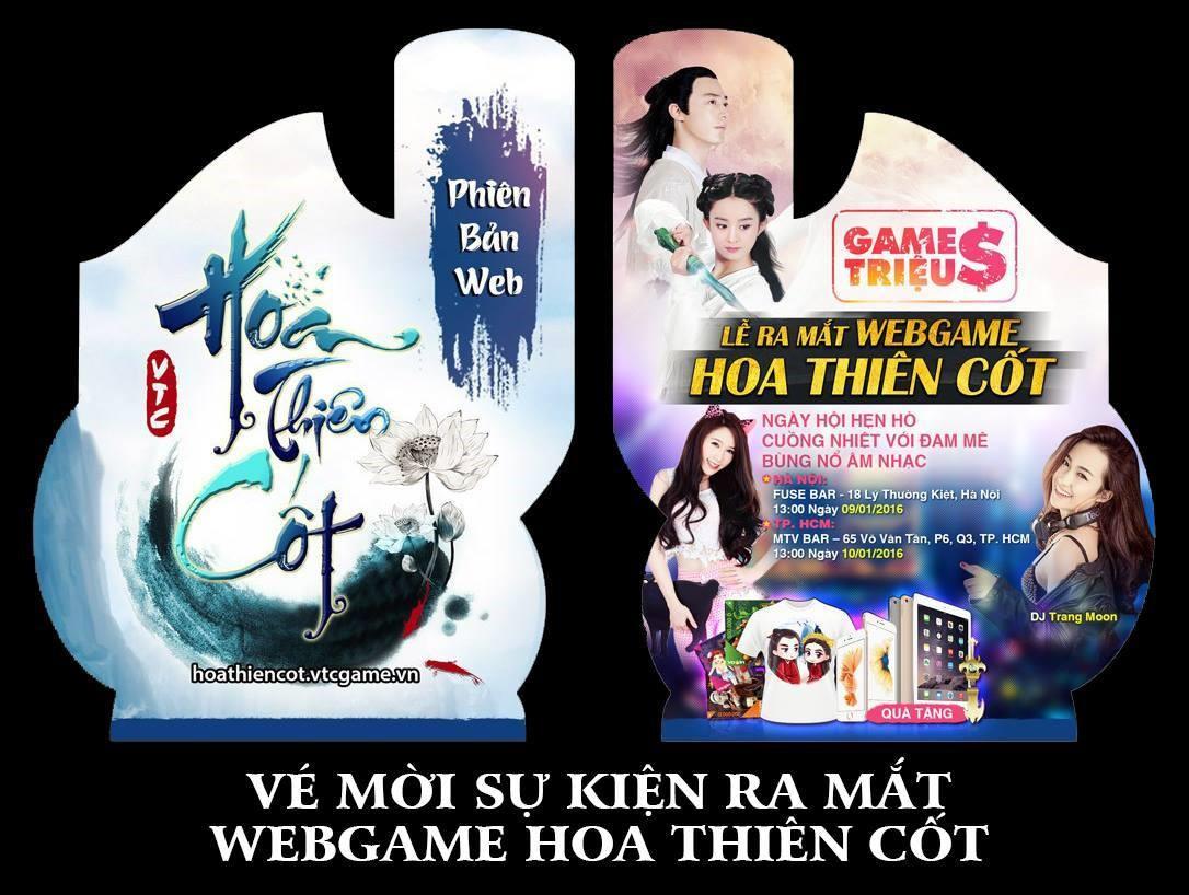 Webgame Hoa Thiên Cốt khai màn với sự kiện ra mắt khủng 0