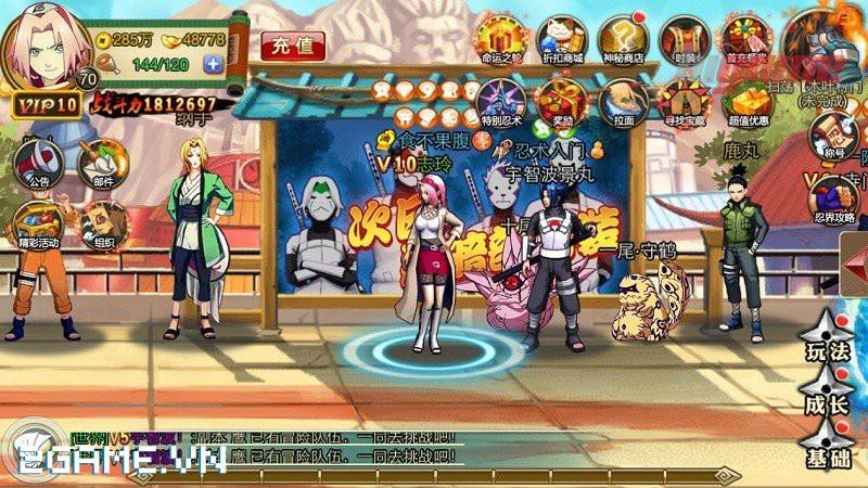 Huyền Thoại Naruto - game mobile về Naruto đã đến Việt Nam 0