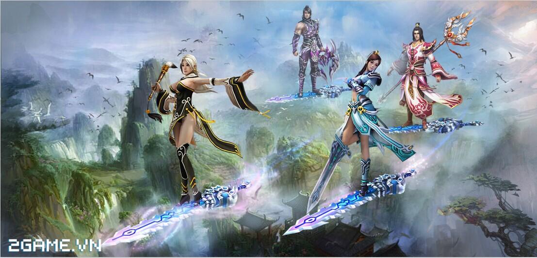 Dạo một vòng quanh game Ma Kiếm Lục trước ngày ra mắt 4