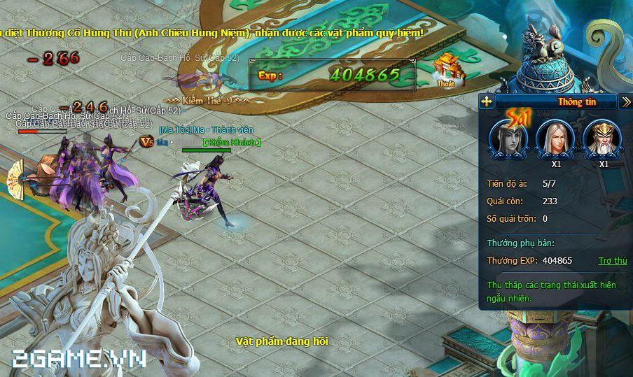 Dạo một vòng quanh game Ma Kiếm Lục trước ngày ra mắt 3
