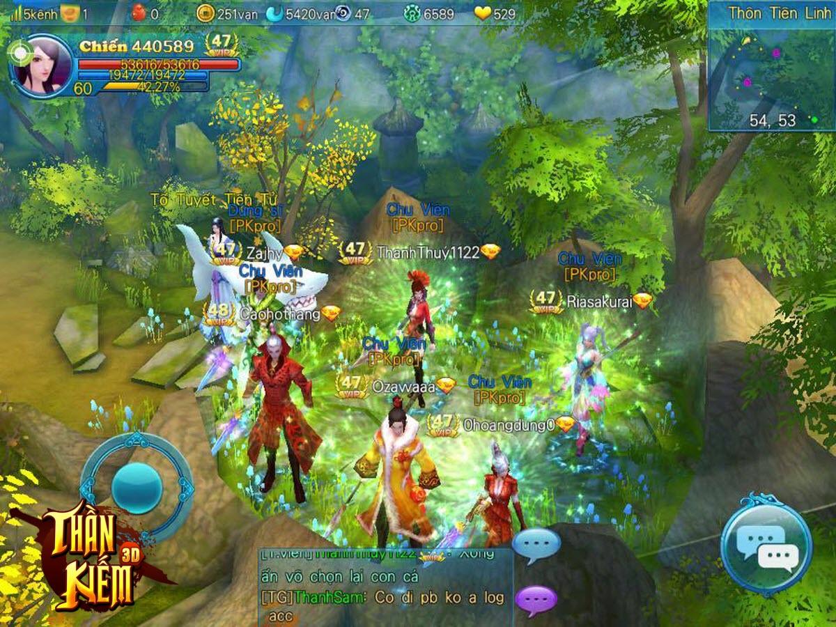 Tặng 315 giftcode game Thần Kiếm 3D 1